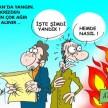 Yunanistan'da yangın !